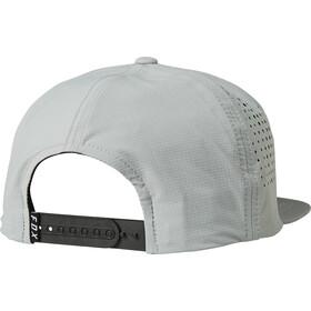 Fox Crest Snapback Cap Heren, grey/red
